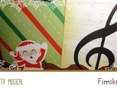 Tarjeta Musical - Navidad