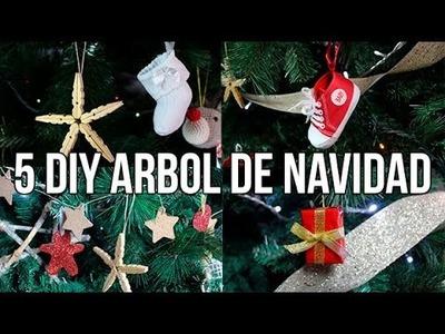 5 manualidades para decorar el Arbol de Navidad