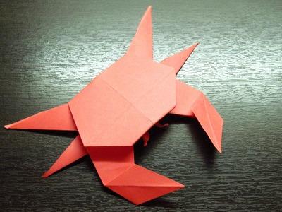 Como hacer Origamis de papel HOROSCOPO | Signo de CÁNCER