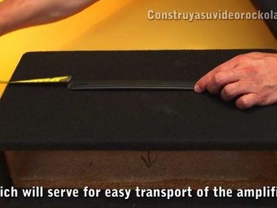 Como hacer una caja o gabinete para su amplificador