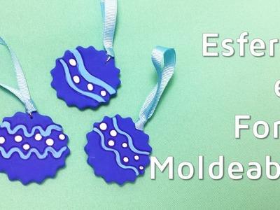 Cómo hacer adornos para el árbol de Navidad con goma eva moldeable | facilisimo.com