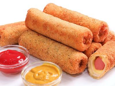 Rollitos de Salchicha y Queso | Hot Dog súper deliciosos!