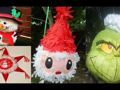 +40 Ideas de Piñatas para Navidad - Decoración Navideña 2016 - Piñata para la Posada
