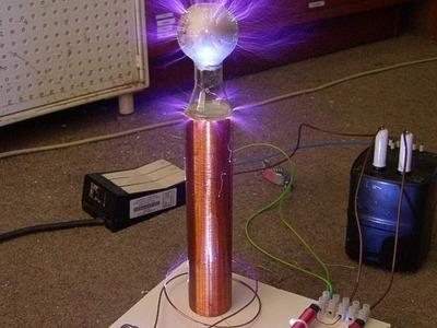 Como hacer una bobina de Tesla
