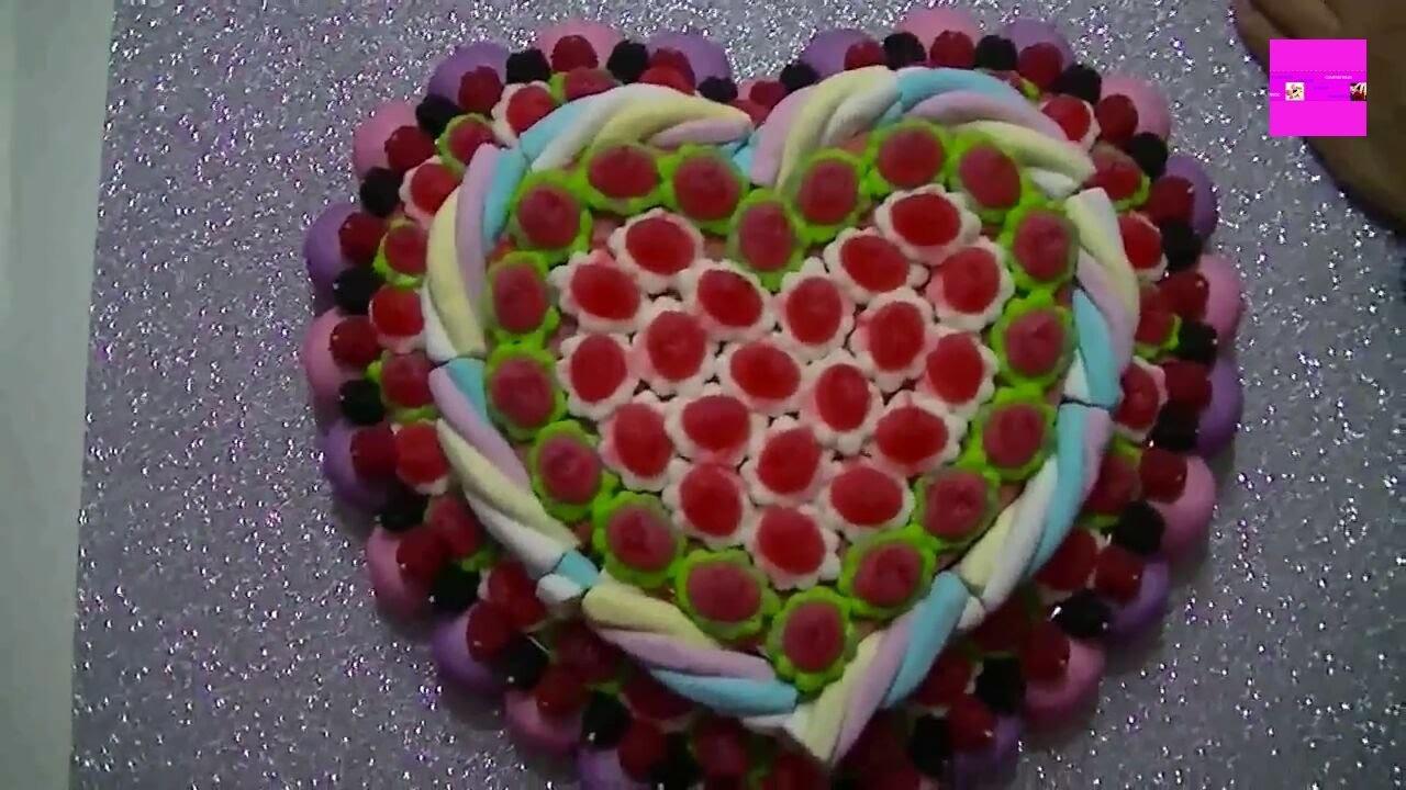 Como hacer una tarta de chuches