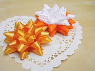 Lazos o moños fáciles para decorar regalos