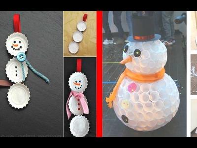+50 Ideas Adornos Navideños DIY - Decoraciones Navideñas - Adornos para Navidad Faciles de Hacer