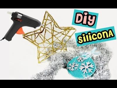ADORNOS en 3D con SILICONA para NAVIDAD!!! IDEAS FÁCILES para DECORAR en NAVIDAD - BeagleArts ♥