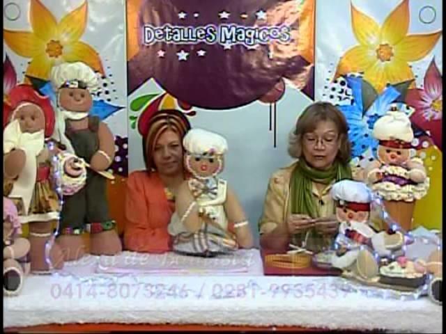 Bogota  Mimi Luna con  Alexa de Bautista creando una hermosa Galleta de Gengibre Parte 3