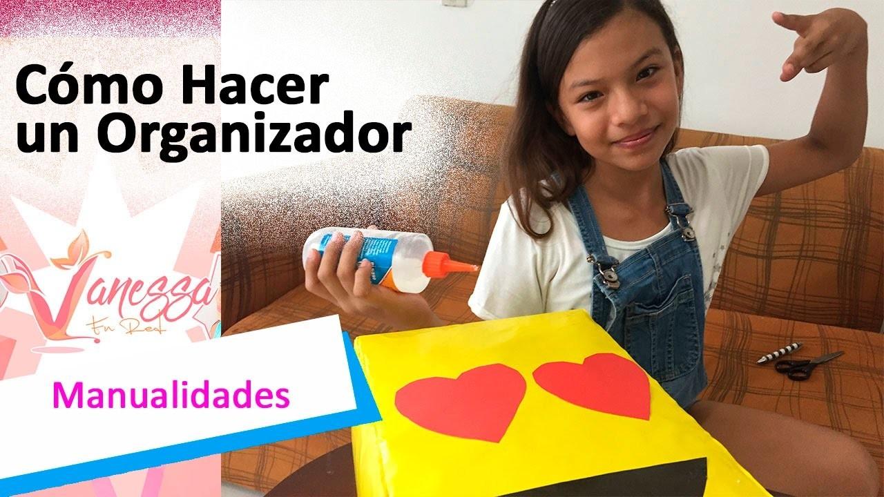 COMO HACER UN ORGANIZADOR DE ACCESORIOS CON CAJAS