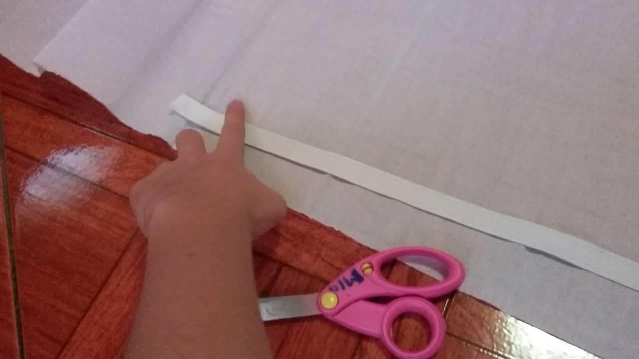 Como hacer una falda de papel china