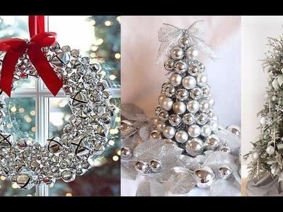 Decoración navideña 2016 color plateado - Ideas de decoración Navidad 2016