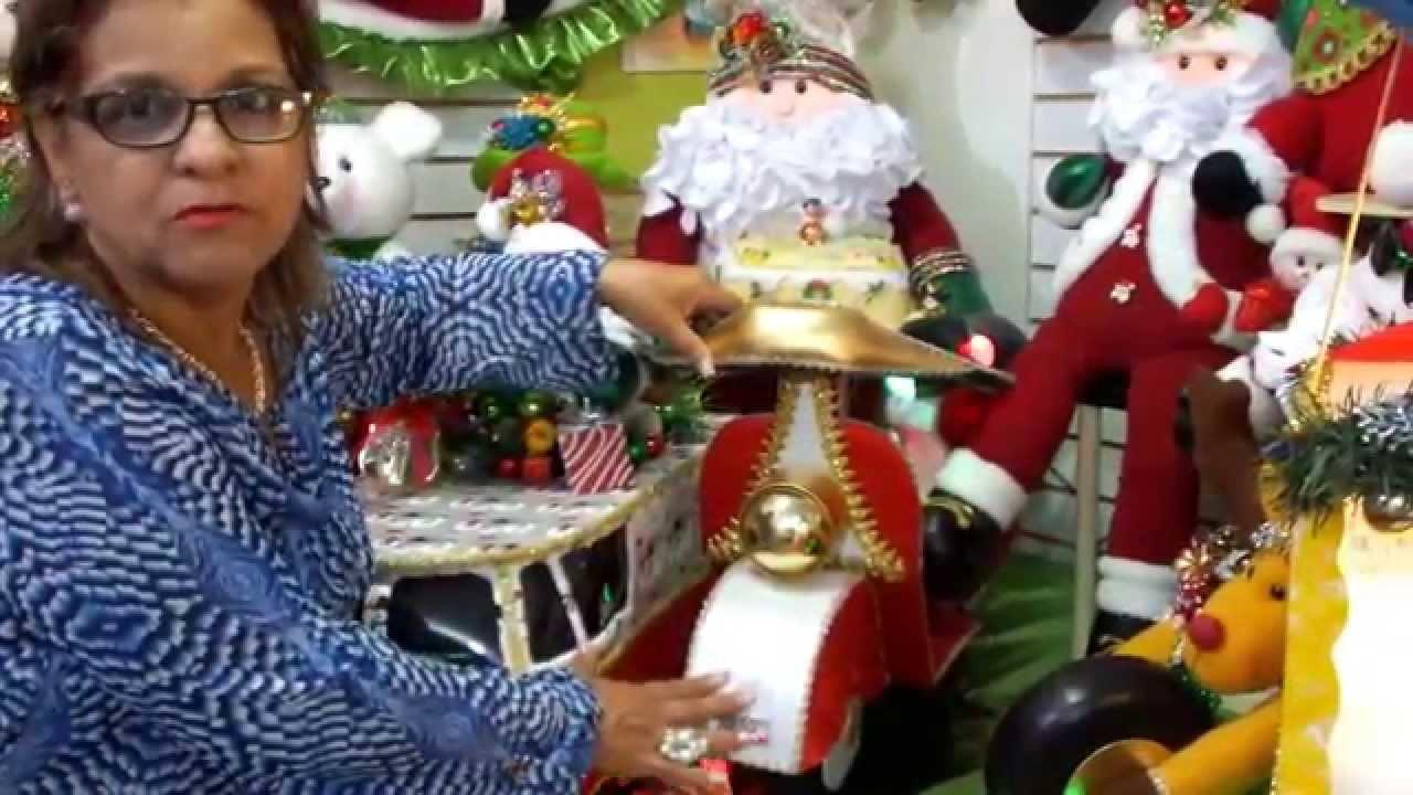 Muñecos navideños creaciones chelina