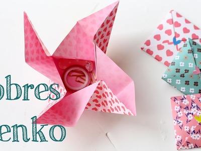 Aprende a hacer un bonito sobre de papel Menko - Origami