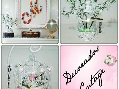 Decorados Vintage para tu casa DIY