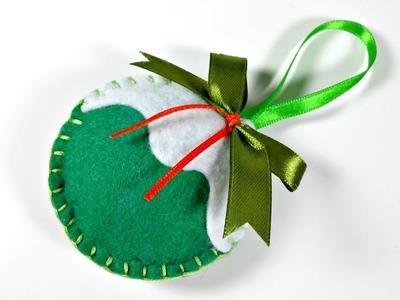 Ideas de Navidad #5 | Bolas de Fieltro para el árbol