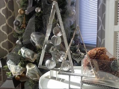 Ideas para decorar en navidad. Decoraciones navideñas de ultimo minuto. Manualidades con reciclaje