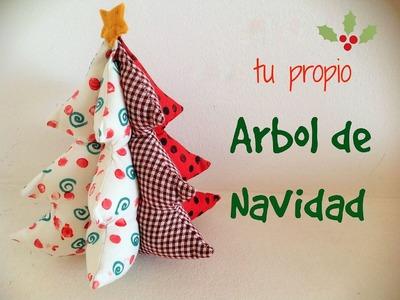 Manualidad para Navidad - Como hacer Arbolito de Navidad