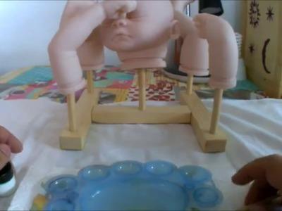 Tutorial 2. Crea tu bebe reborn. Preparacion del kit y neutralizacion