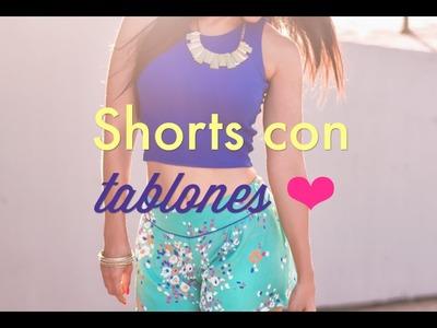 Como Crear Shorts con Tablones   ZOE Versión #3