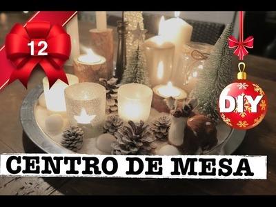 COMO HACER CENTRO DE MESA NAVIDEÑO | DECORACION NAVIDAD