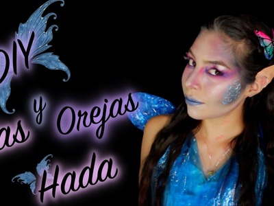 COMO HACER OREJAS Y ALAS DE HADA.ELFO PASO A PASO | DIY ☆HALLOWEEN☆