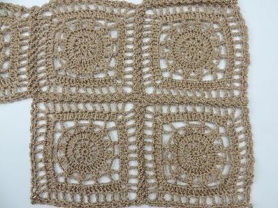 Crochet: Cuadrado # 19