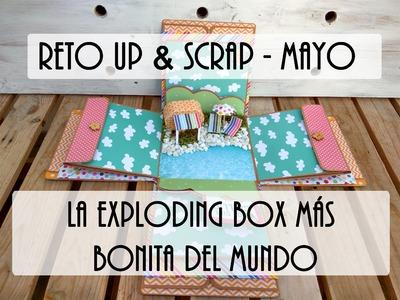 La exploding box más bonita del Mundo para Up & Scrap