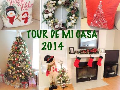Tour de Mi Casa Y ideas de Decoracion para Navidad