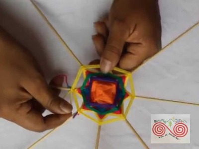Tutorial para tejer un Ojo de Luz  (Escuela Radio Visual)