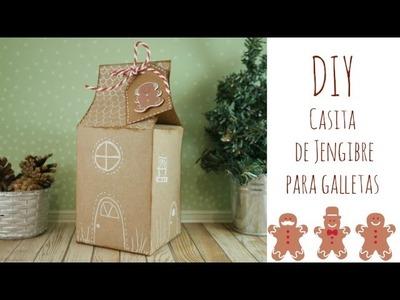 "DIY Caja ""Casita de Jengibre"" para galletas. DN2016 Episodio 5"