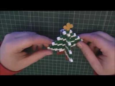 DIY Christmas Tree Hama Beads 3D