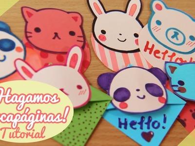 ♡ Hagamos marcapáginas cute! DIY. Tutorial ♡ By Piyoasdf