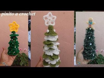 Pinito navideño a crochet ( buscando mi espíritu navideño)