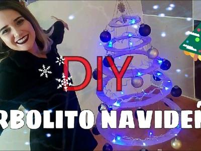 DIY ARBOLITO DE NAVIDAD CON CARTON - Hi Marylu