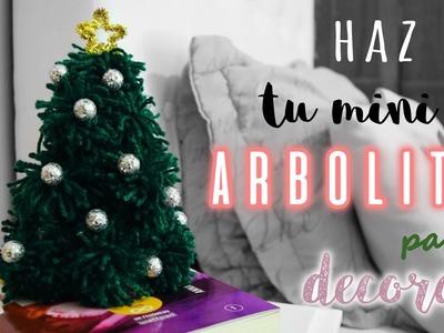DIY Arbolito de Navidad para decorar