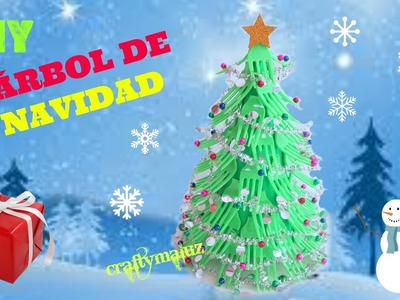 ♥ÁRBOL DE NAVIDAD casero Decoraciones navideñas | DIY Fork Christmas tree