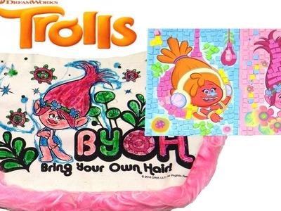 Crea tu propio bolso personalizado de Los Trolls y disfruta con manualidades