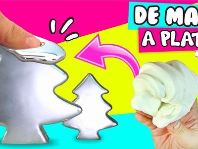 #DIY ★ ARBOLITOS decorativos DE PLATA!!  ✔ ★ Así o Más Fácil ★