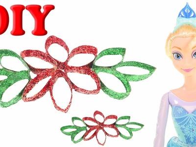 DIY Pascua para Navidad Crea una Linda Flor Navideña con Elsa de Frozen DCTC Navidad