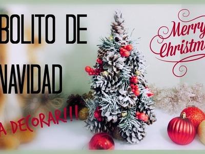 MANUALIDADES PARA NAVIDAD CÓMO HACER UN ARBOLITO (HOW TO MAKE A DECORATIVE CHRISTMAS TREE)