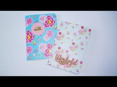 DIY: Libretas.cuadernos fáciles