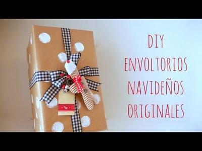 ¡Envuelve un regalo conmigo! DIY paquetes originales para Navidad. DN2016 Episodio 9