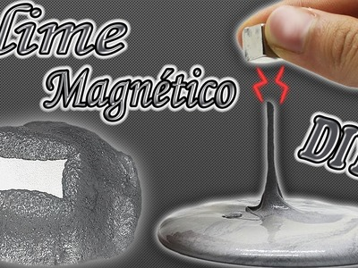 ♥ Tutorial: Slime Magnético DIY (Sin Bórax) ♥