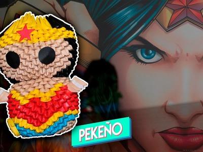 Wonder Woman Origami 3D | Pekeño ♥
