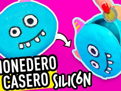 DIY Monederos Caseros de Silicon | Manualidades Sin Coser | Con Asi o mas facil y Cookies in the sky