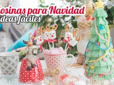 Golosinas para Navidad: 4 ideas fáciles | Quiero Cupcakes!