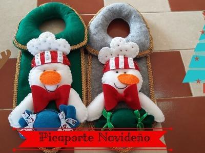 ¡Lindo Picaporte Navideño!