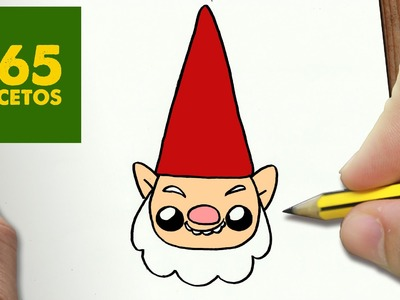 COMO DIBUJAR UN ELFO PARA NAVIDAD PASO A PASO: Dibujos kawaii navideños - How to draw a Elf