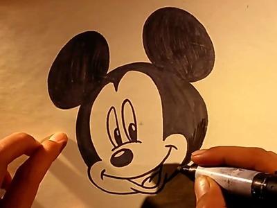Dibujos Animados Para Colorear de Mickey Mouse - Disney